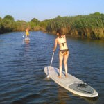 stand-up paddle sur la leyre