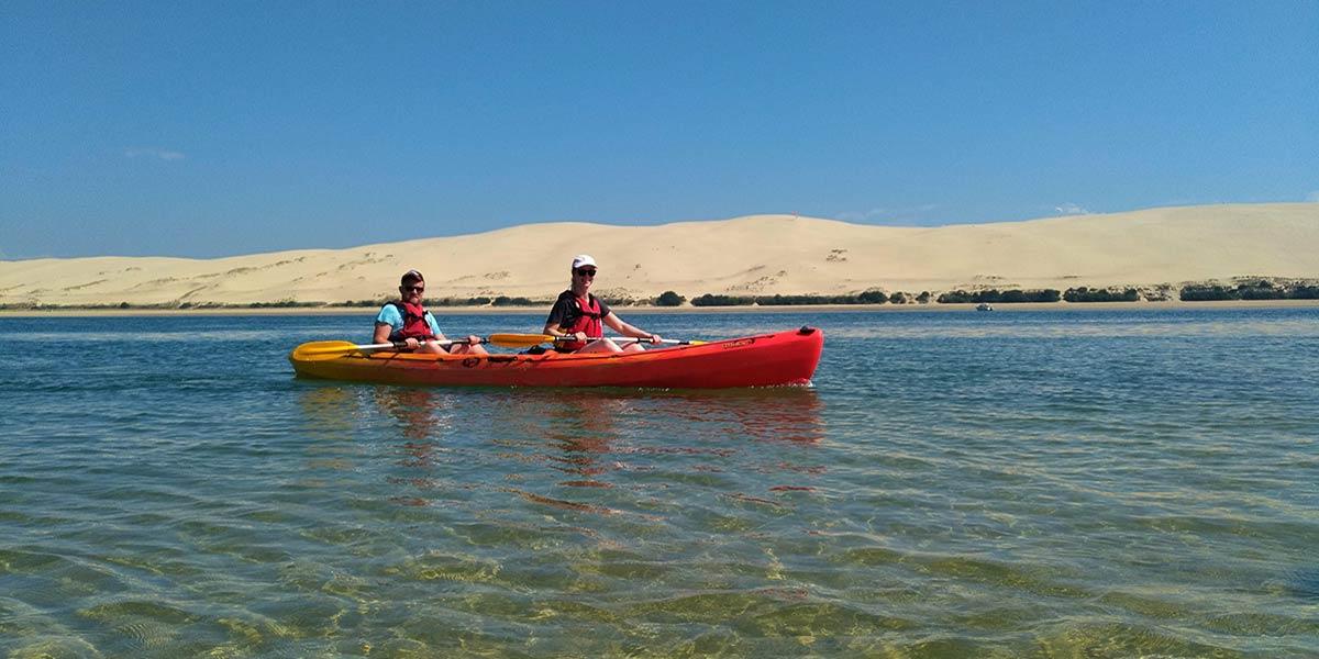 Calendrier des sorties en kayak arcachon