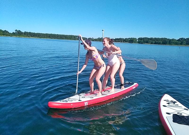 location paddle arcachon