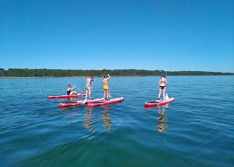 location paddle bassin arcachon