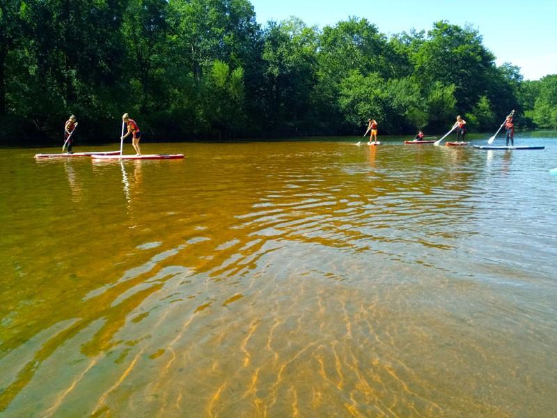 Randonnée sur le Delta de la Leyre en Stand-up Paddle