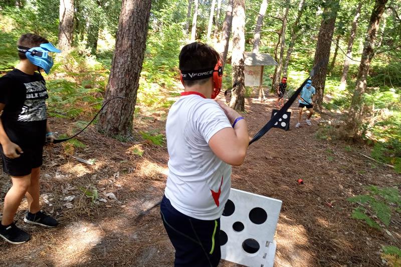archery tag arcachon