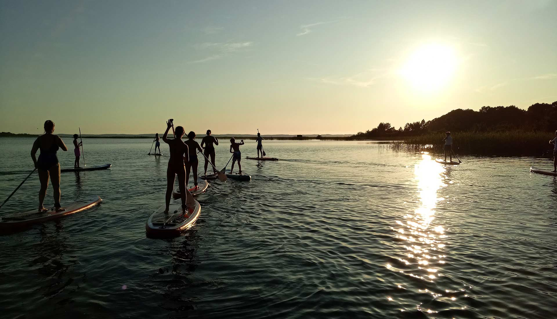 Afterwork en stand-up paddle