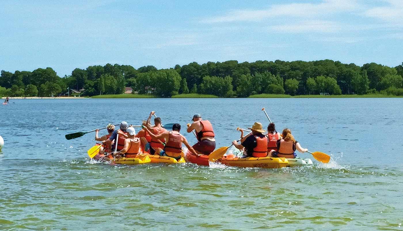 canoe kayak arcachon