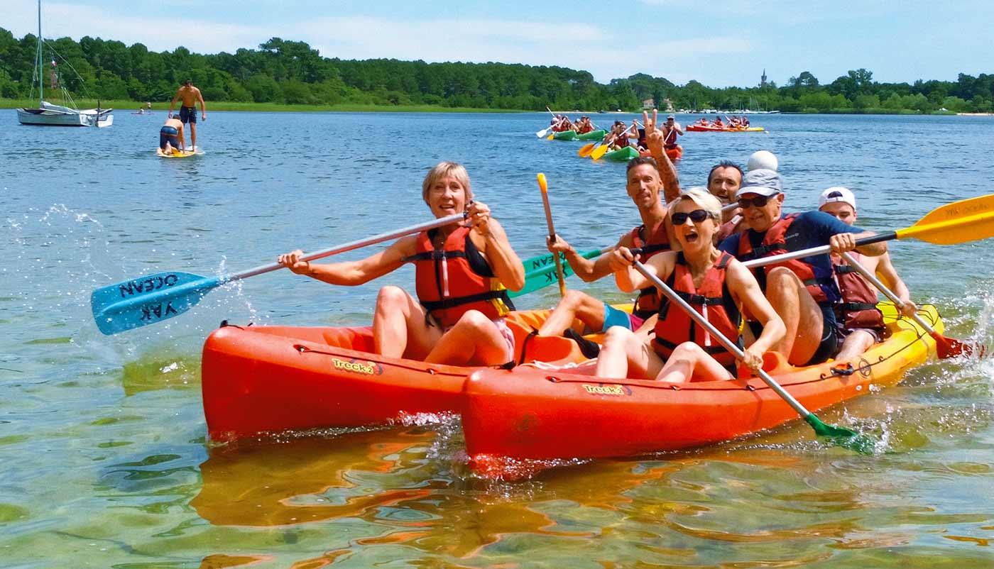 canoe kayak bassin arcachon