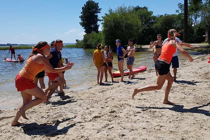 challenge d'équipe bassin arcachon