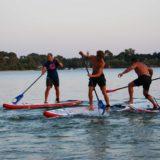 SUP Polo sur le lac Sanguinet