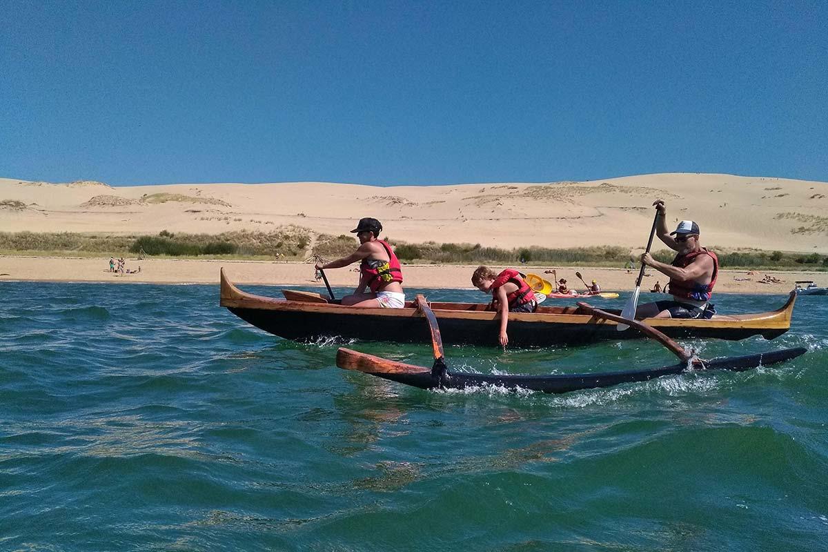 Randonnée le long de la Dune du Pilat