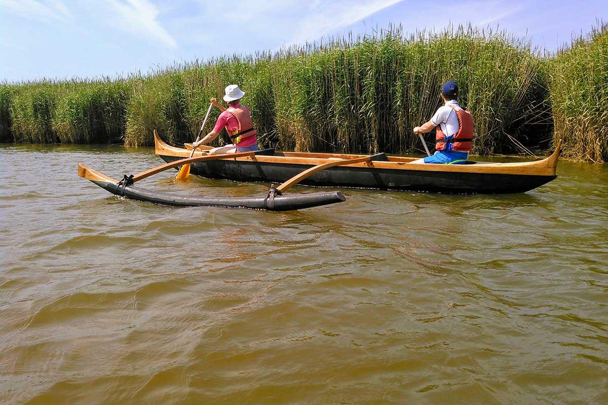 balade sur le Delta de la Leyre