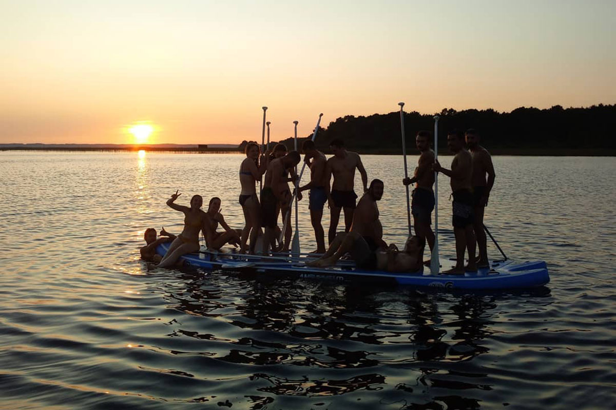 location giant sup arcachon