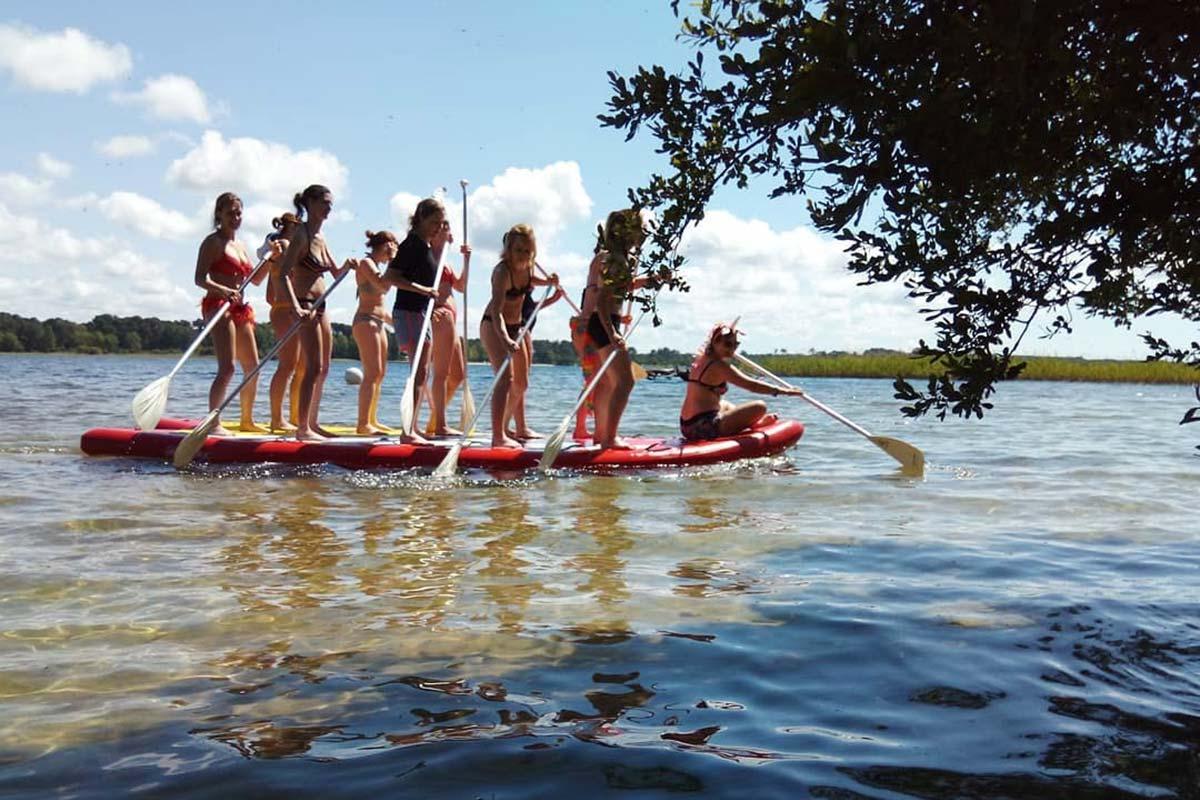 paddle géant arcachon