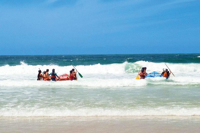wave rafting biscarrosse