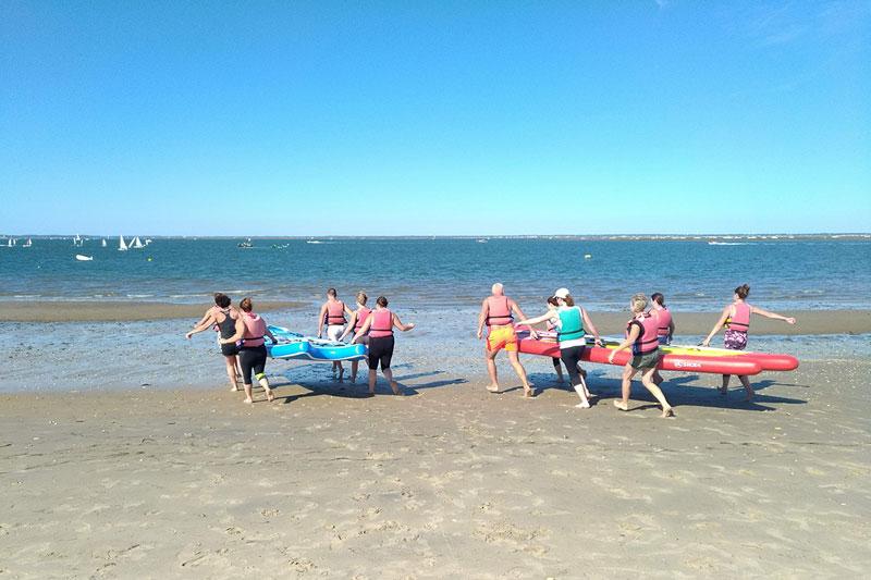 wave rafting biscarrossea