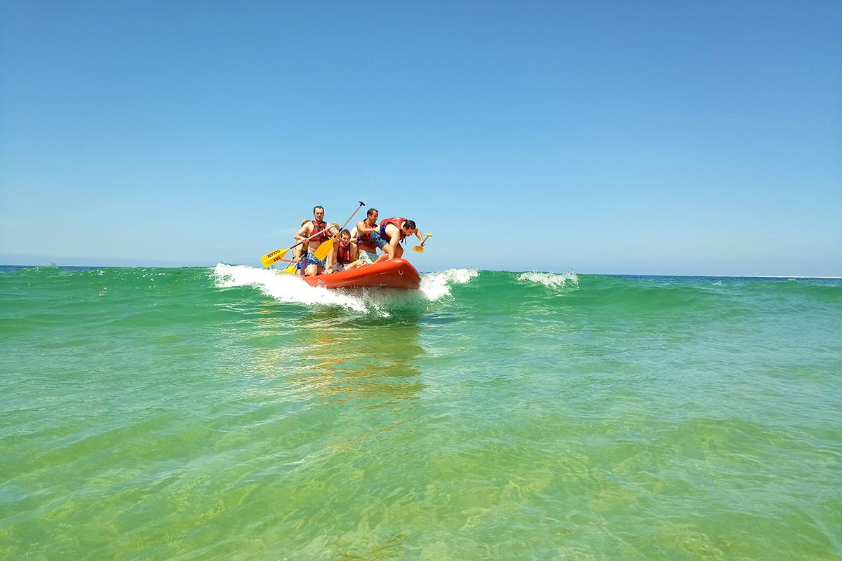 wave rafting arcachon